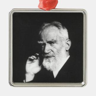 George Bernard Shaw Christmas Tree Ornaments