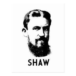 George Bernard Shaw Postcard