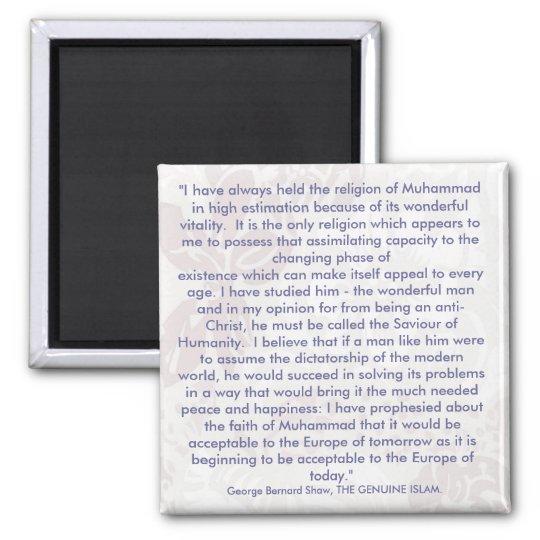 George Bernard Shaw Quotes Fridge Magnet