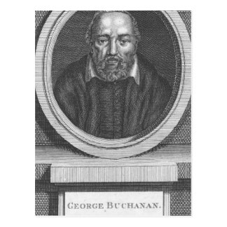 George Buchanan, engraved for Universal Magazine Postcard