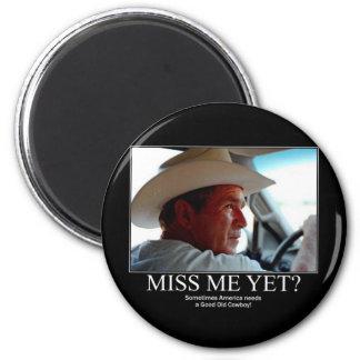 George Bush 6 Cm Round Magnet