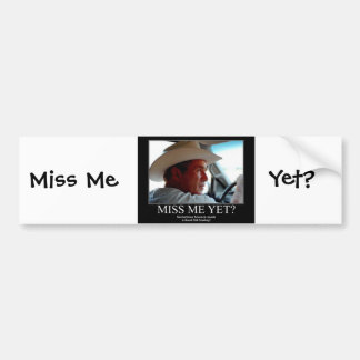 George Bush Bumper Sticker