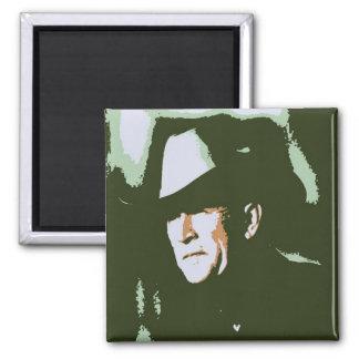 George Bush/Cowboy Magnet