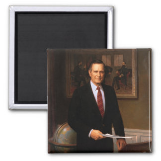 George Bush Fridge Magnet