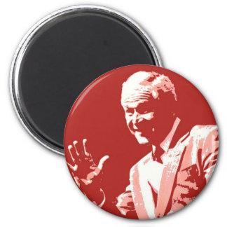 George Bush/Miss Me Yet? 6 Cm Round Magnet