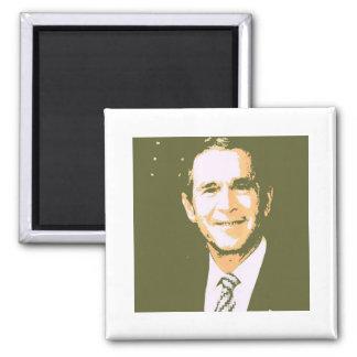 George Bush Pop Art Fridge Magnet
