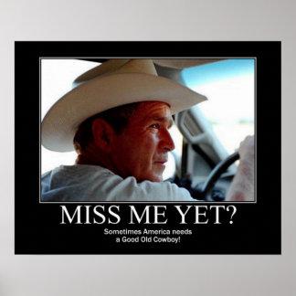 George Bush Poster