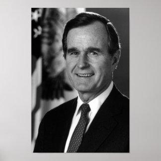 George Bush Sr. Poster