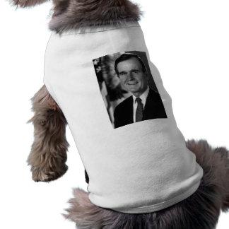 George Bush Sr. Sleeveless Dog Shirt