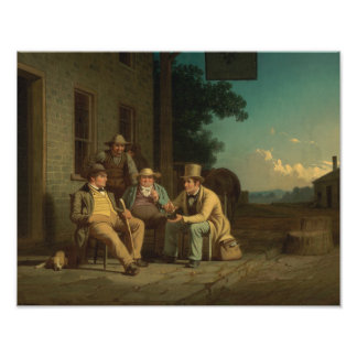 George Caleb Bingham - Canvassing for a Vote Photo Art