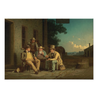 George Caleb Bingham - Canvassing for a Vote Photograph