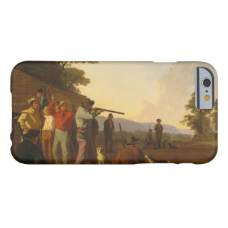 George Caleb Bingham - Shooting for the Beef Barely There iPhone 6 Case
