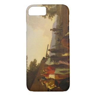 George Caleb Bingham - Shooting for the Beef iPhone 7 Case