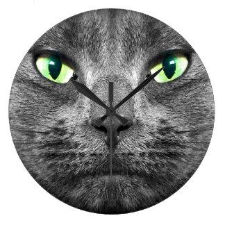 George cat clock