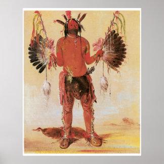 George Catlin Old Bear A Medicine Man Poster