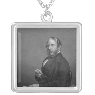 George Cruikshank Esq Silver Plated Necklace