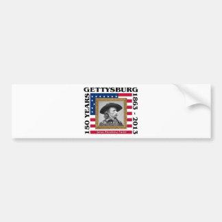 George Custer - 150th Anniversary Gettysburg Bumper Sticker