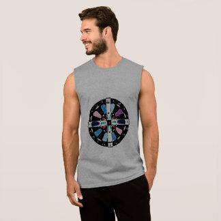 George Demetri DARTBOARD Crosshairs Sleeveless Shirt