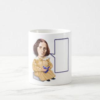 George Eliot (Mary Ann Evans) 1819 – 1880 mug