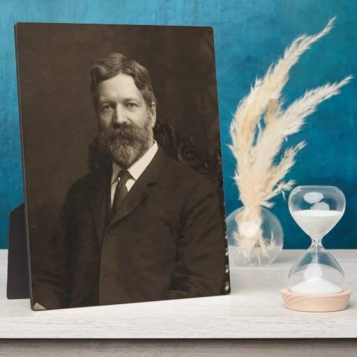 George Foster Peabody by the Pach Brothers Photo Plaques