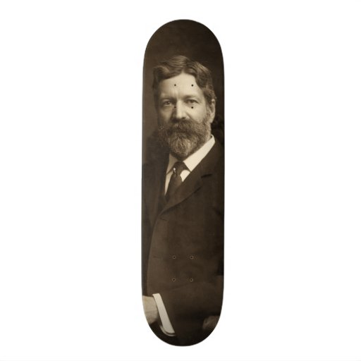 George Foster Peabody by the Pach Brothers Skate Boards