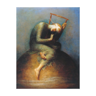 George Frederic Watts: Hope Canvas Print