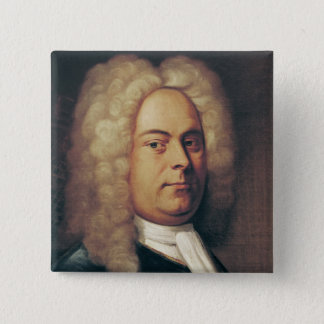 George Frederick Handel 15 Cm Square Badge