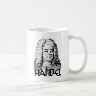 George Frideric Handel Basic White Mug