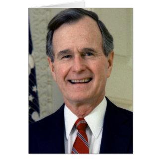 George H. W. Bush 41 Greeting Card
