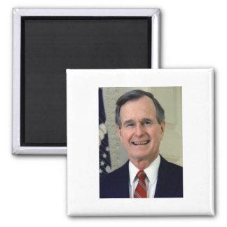 George H. W. Bush 41 Refrigerator Magnet