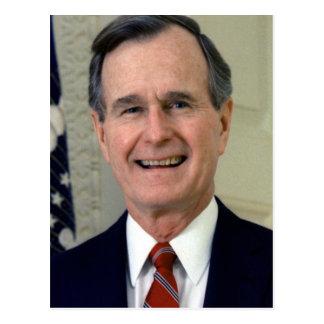 George H. W. Bush 41 Postcard