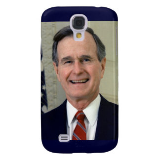 George H. W. Bush 41st President Galaxy S4 Cover