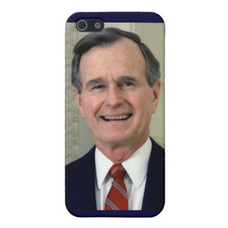 George H. W. Bush 41st President iPhone 5 Covers