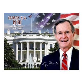 George H. W. Bush - 41st President of the U.S. Postcard