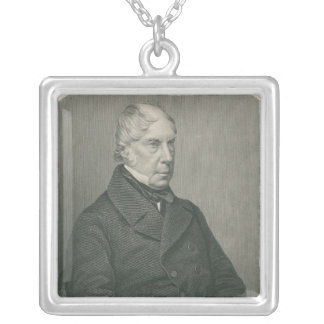 George Hamilton-Gordon, 4th Earl of Aberdeen Silver Plated Necklace