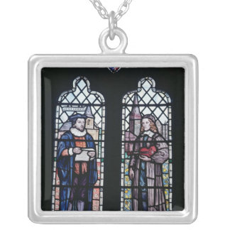 George Herbert and Nicholas Ferrar Silver Plated Necklace