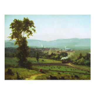 George Inness - The Lackaanna Valley Postcard