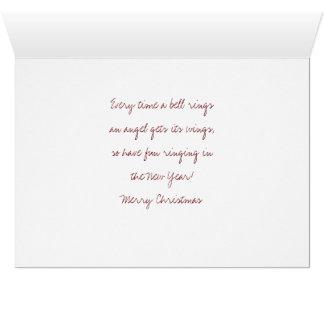 George Lassos the Moon Christmas card