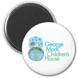 George Mark Children's House 6 Cm Round Magnet