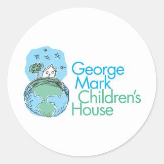 George Mark Children's House Round Sticker