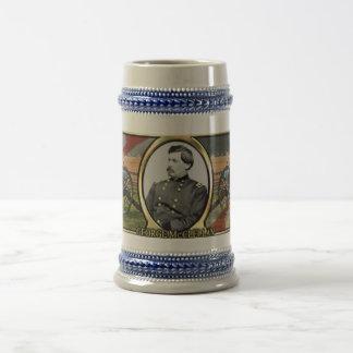 George McClellan Civil War Stein Beer Steins