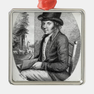 George Morland, engraved by G.Scott, 1805 Silver-Colored Square Decoration