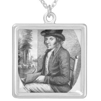 George Morland, engraved by G.Scott, 1805 Silver Plated Necklace