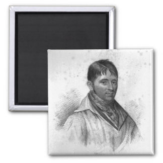 George Nichols, engraved by Percy Roberts Refrigerator Magnets
