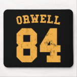 George Orwell 84 1984 Jersey Mousepads