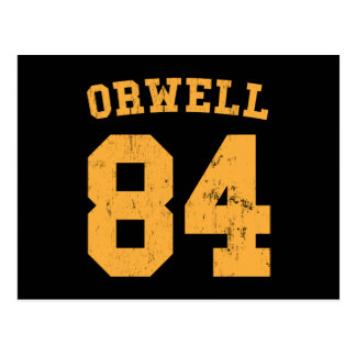 George Orwell 84 1984 Jersey Post Card