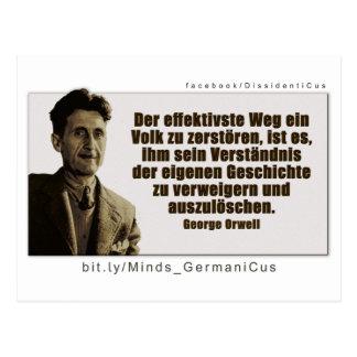 George Orwell: History Postcard