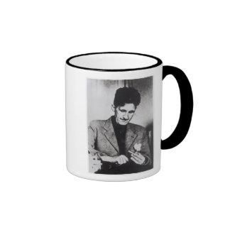 George Orwell Ringer Coffee Mug