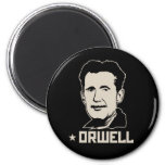 George Orwell Portrait Magnet