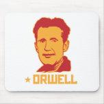 George Orwell Portrait Mousepad